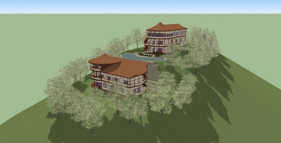 Architecture & Urbanisme - Construction d'un hôtel à Bali