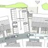 Construction d'appartements à Ransart - Implantation