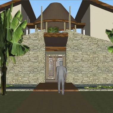 Construction d'une villa à Madagascar