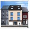 Construction d'appartements à Gosselies - Façade avant