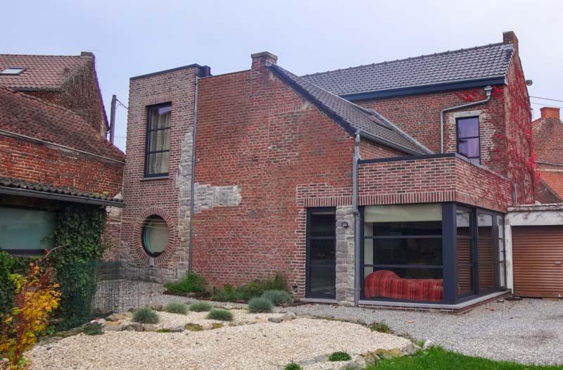 Archibald co architecture et urbanisme charleroi for Annexe maison moderne